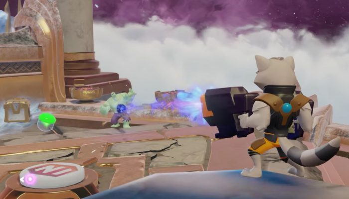 Disney Infinity 3.0 – Marvel Battlegrounds Strategy: Rocket Raccoon