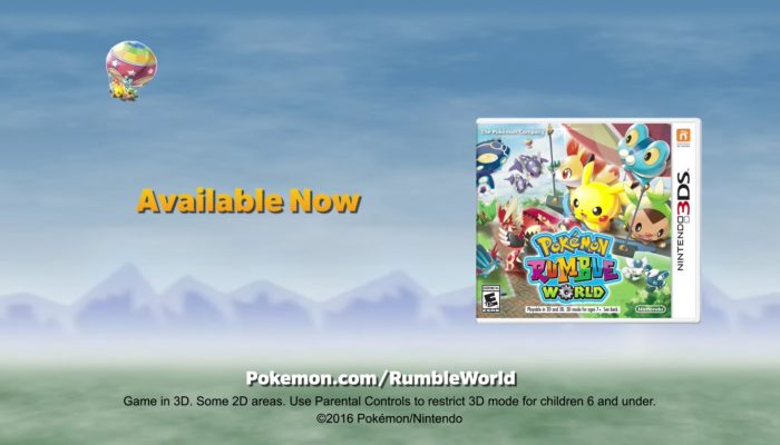 Pokémon Rumble World – Collect & Battle 700+ Toy Pokémon!