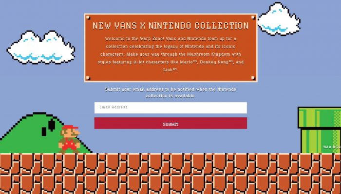 'New Vans X Nintendo Collection'