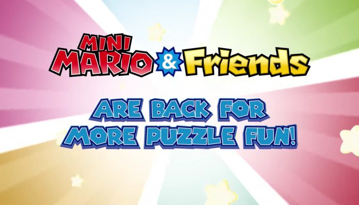Mini Mario & Friends: amiibo Challenge – Launch Trailer