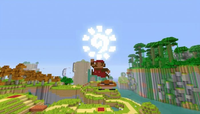 Minecraft: Wii U Edition – Super Mario Mash-Up Pack Trailer