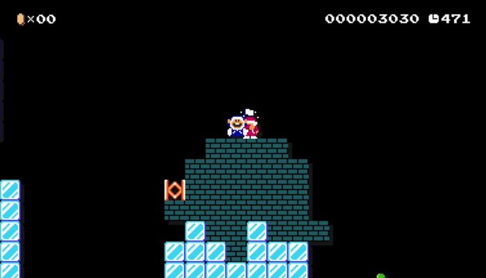 Super Mario Maker – Ice Climber Costume Footage