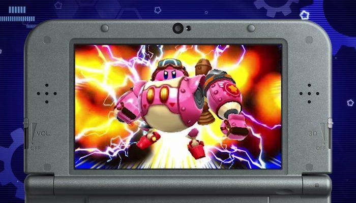 Kirby : Planet Robobot – Bande-annonce de présentation
