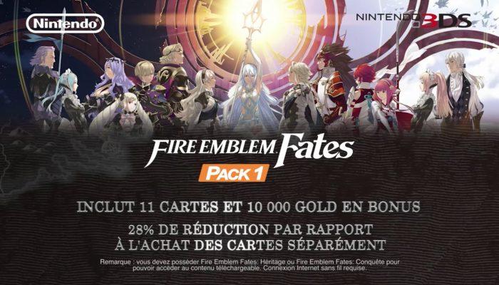 Fire Emblem Fates – Bande-annonce du pack de cartes 1