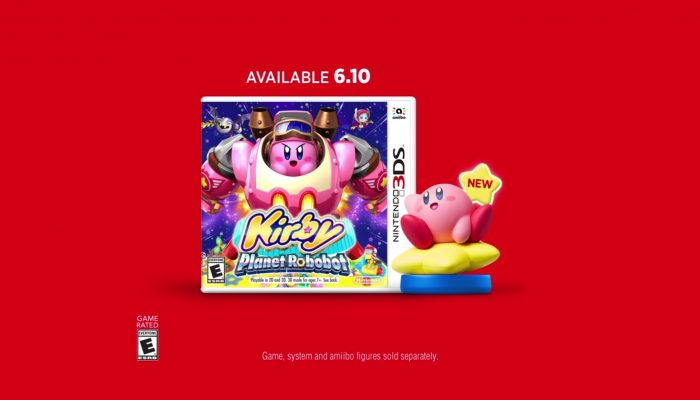 Kirby: Planet Robobot – New Kirby Series amiibo Commercial