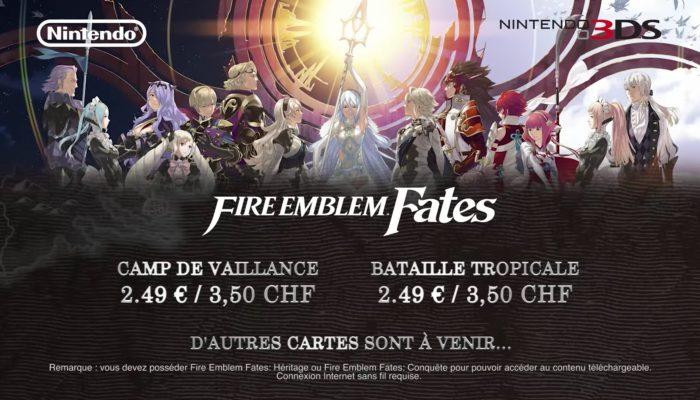 Fire Emblem Fates – Cartes DLC 2 et 3