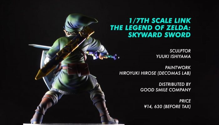 The Legend of Zelda: Skyward Sword – Good Smile Figure Introduction Video