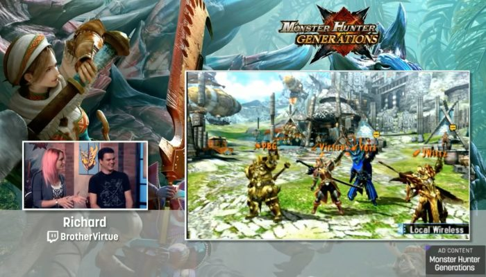 Monster Hunter Generations – Livestream with Seltzer, PBG, TheJWittz and BrotherVirtue
