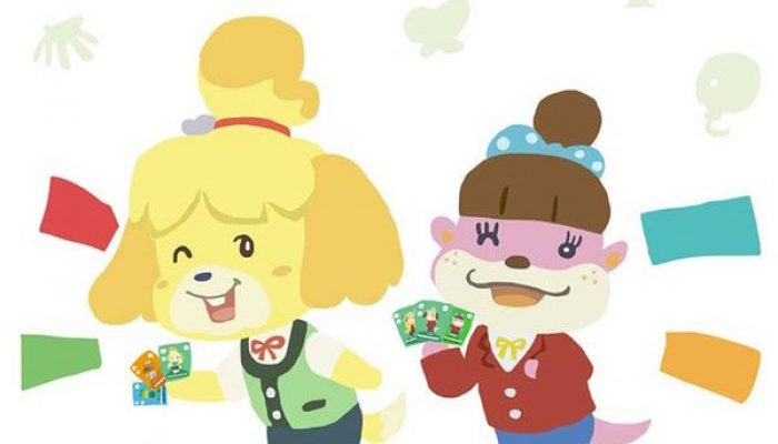 Animal Crossing celebrating a million amiibo card packs sold in Europe