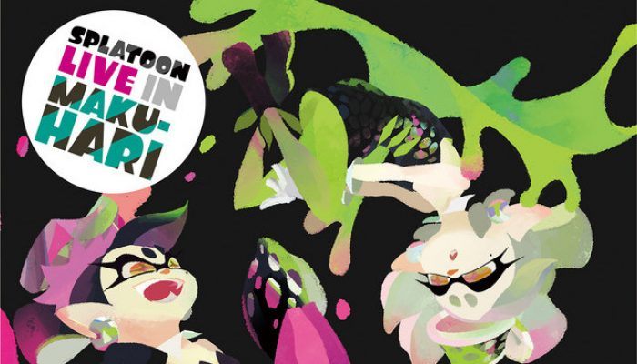 The Squid Sisters' second live is getting an album in Japan