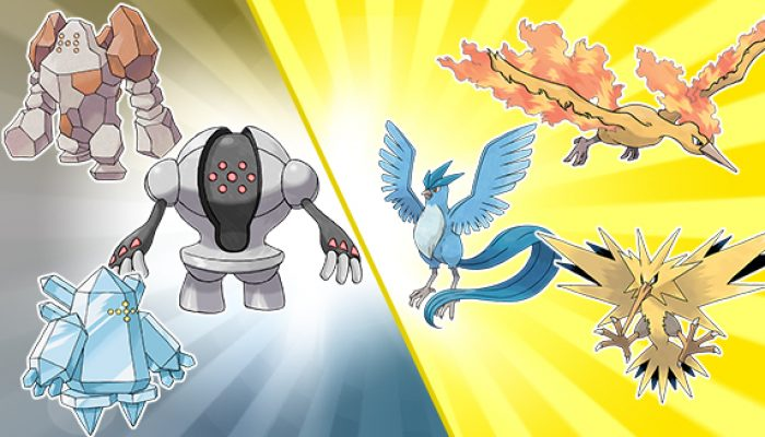 Pokémon: 'Legendary Pokémon Distribution Trios Roundup!'