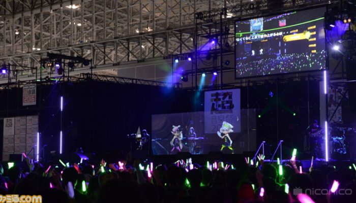 Splatoon – Pictures of Chokaigi 2016 from Famitsu