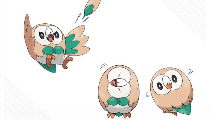 Pokémon Sun & Moon – Rowlet