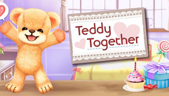 NoE: 'Become best friends with a teddy bear brought to life in Teddy Together, coming to Nintendo 2DS and Nintendo 3DS on July 1st'