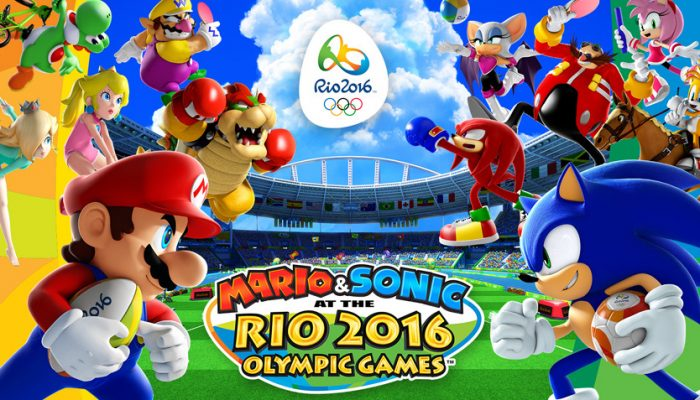 NoE: 'Let the games begin with Mario & Sonic at the Rio 2016 Olympic Games, coming to Wii U on 24th June'