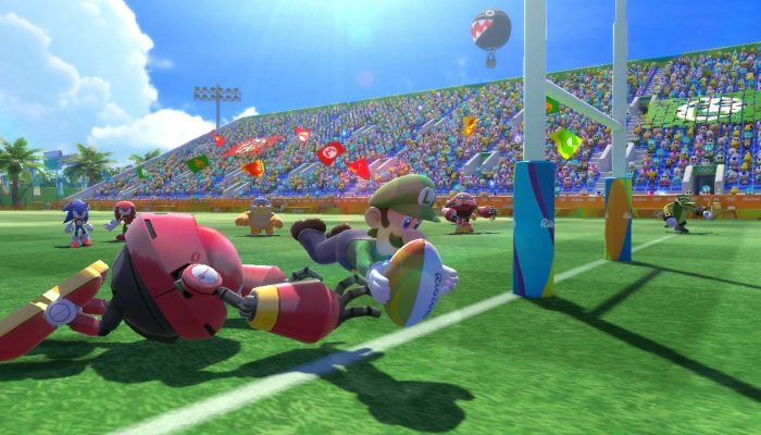 NoE: 'In shops and on Nintendo eShop now – Mario & Sonic at the Rio 2016 Olympic Games [on Wii U]'