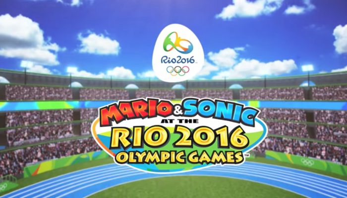 Mario & Sonic at the Rio 2016 Olympic Games – Play on Wii U! Commercial
