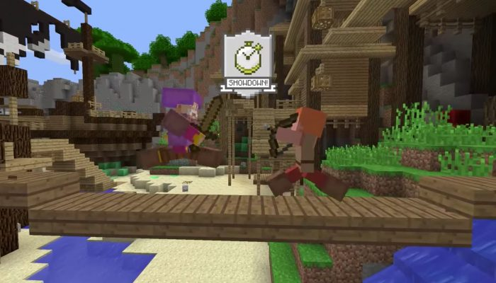 Minecraft: Wii U Edition – Battle Mini Game Trailer