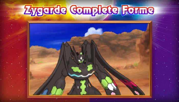 Pokémon Sun & Moon – Two Zygarde Formes Are Ready for Battle!