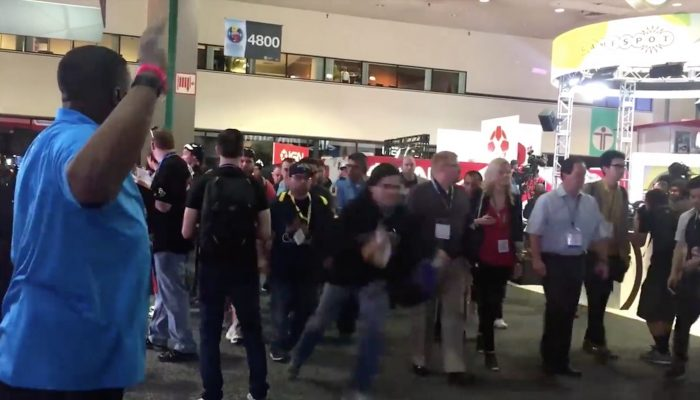 A glimpse of the Zelda hype at this year's E3
