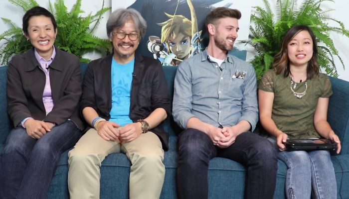 Nintendo Minute – The Legend of Zelda: Breath of the Wild Gameplay with Eiji Aonuma