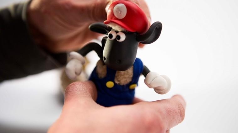 Super Mario Maker x Shaun the Sheep