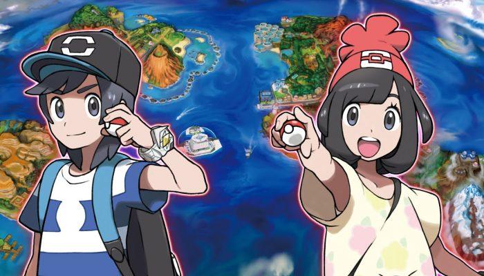 Nintendo France : 'Les Pokémon légendaires de Pokémon Soleil et Pokémon Lune enfin révélés'