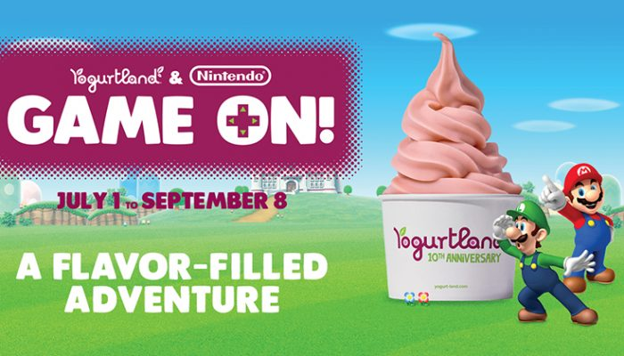 "NoA: 'It's ""Game On!"" with Nintendo treats at Yogurtland stores this summer'"
