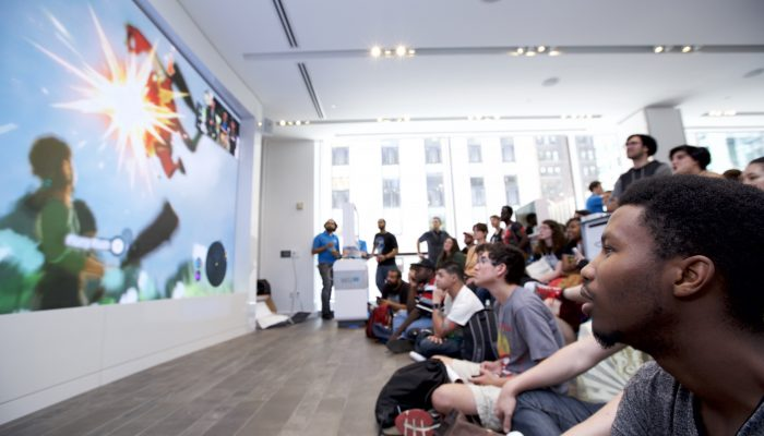 Pictures from The Legend of Zelda Extravaganza Event at the Nintendo NY Store