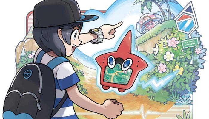 Pokémon Sun & Moon – Record Your Adventure in the Rotom Pokédex!