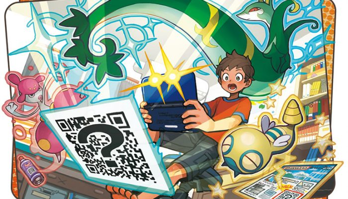Pokémon Sun & Moon – Discover Pokémon Using The QR Scanner!