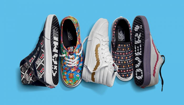 NoA: 'Vans powers up with a new Nintendo collection!'