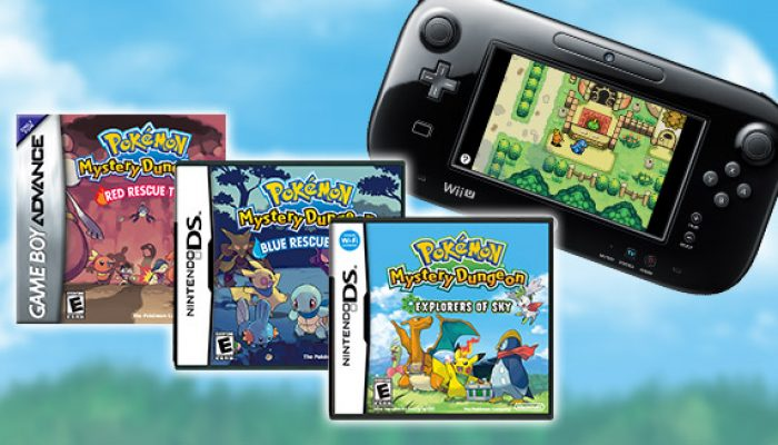 Pokémon: 'Pokémon Mystery Dungeon Games Come to Virtual Console'