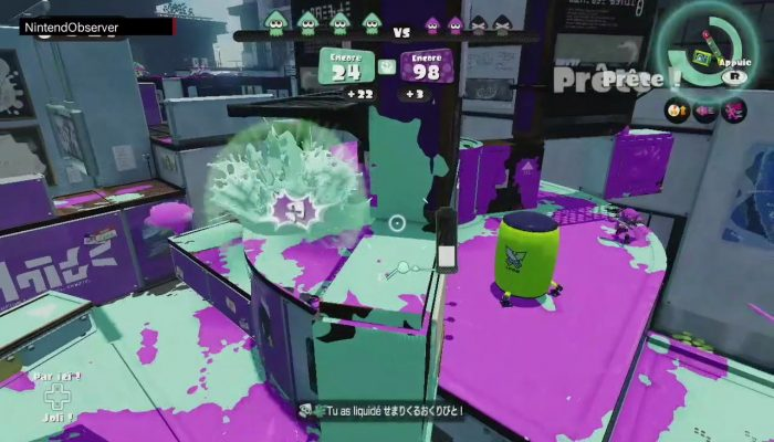 Splatoon, Splats in Music: NintendObs Trailer