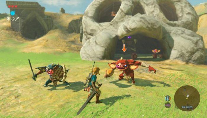 Nintendo France : 'Nintendo met en lumière The Legend of Zelda : Breath of the Wild lors de la première journée de l'E3'