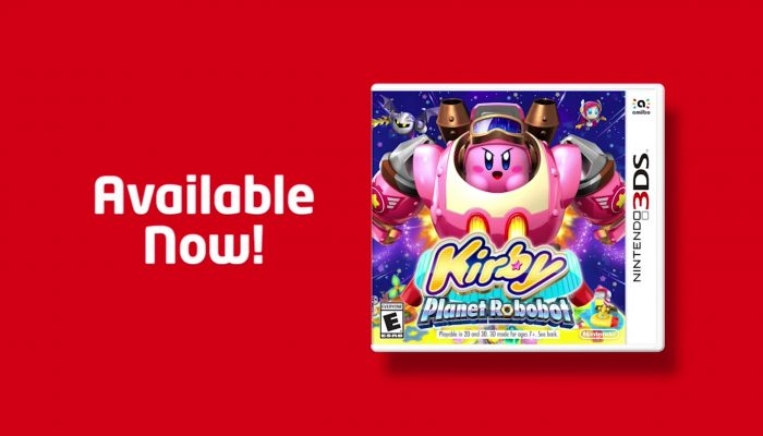 Kirby: Planet Robobot – Accolades Trailer