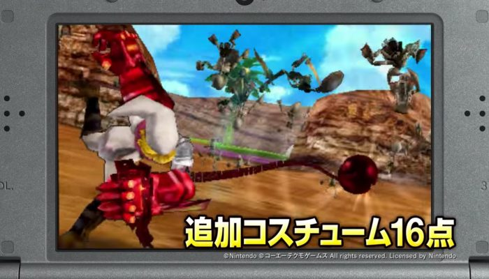 Hyrule Warriors Legends – Japanese Link's Awakening Pack Trailer
