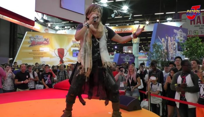 Hironobu Kageyama chante We Gotta Power live à la Japan Expo 2016