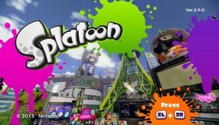 Splatoon, Software update: July 6, 2016