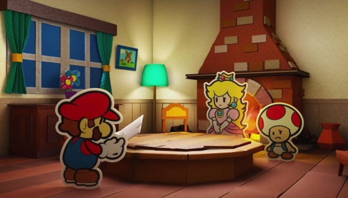 NoE: 'See the latest info about Paper Mario: Color Splash for Wii U!'