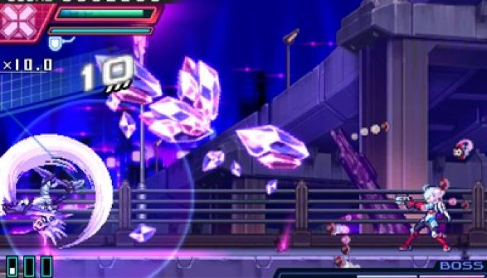 Azure Striker Gunvolt 2 – Japanese Teseo, Ghauri and 'Mysterious Girl' Screenshots