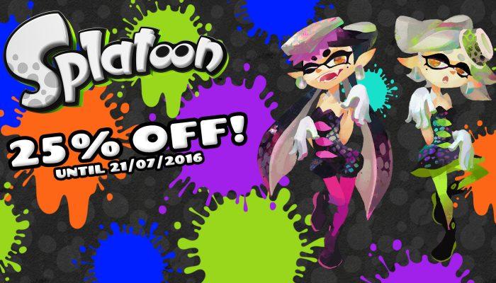 NoE: 'Nintendo eShop sale: Splatoon'