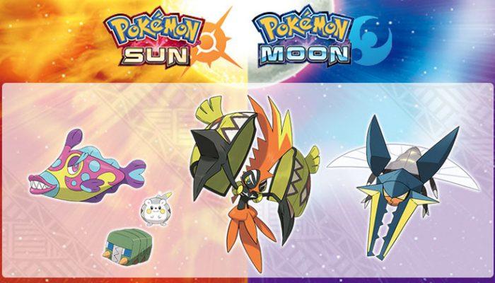 Pokémon: 'Debut of nine new Pokémon for Pokémon Sun and Pokémon Moon!'