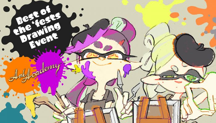 NoA: 'Submit your epic Splatoon art to the Best of the 'fests Drawing Event'