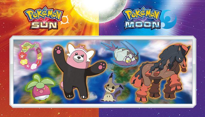 NoA: 'New features announced for Pokémon Sun and Pokémon Moon'