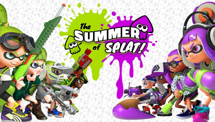 Nintendo UK: 'The Splatoon Summer of Splat begins this July!'