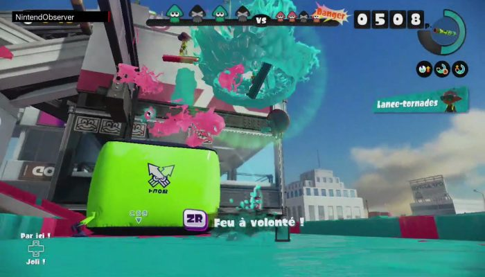 Splatoon, Remixed Splats #3: We Can't Go Back.