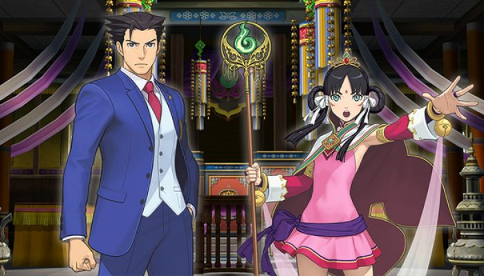Capcom: 'Ace Attorney Character Profiles: Phoenix Wright and Rayfa Padma Khura'in'