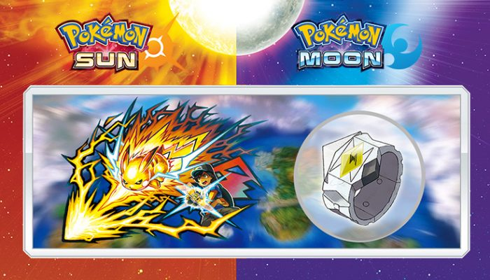 NoA: 'Z-moves and Alolan Pokémon variants announced for Pokémon Sun and Pokémon Moon'