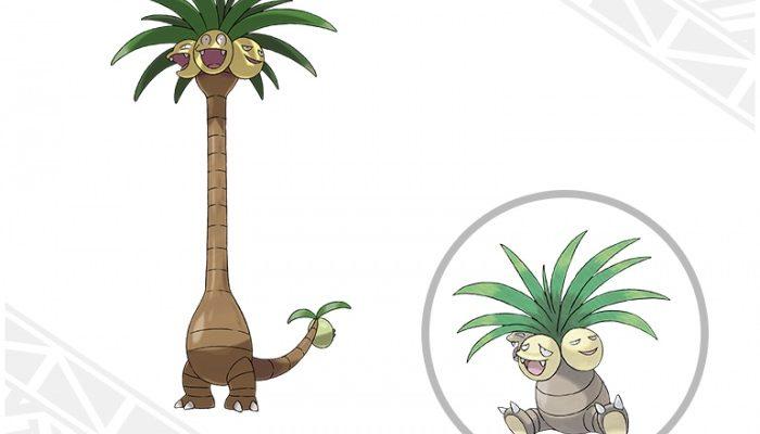 Pokémon Sun & Moon – Alolan Exeggutor